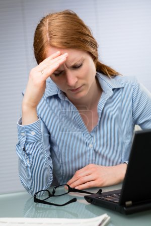 Problems at Work - Businesswoman
