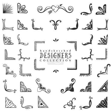 Vintage decorative corners collection