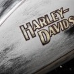 Постер, плакат: Harley Davidson gas tank