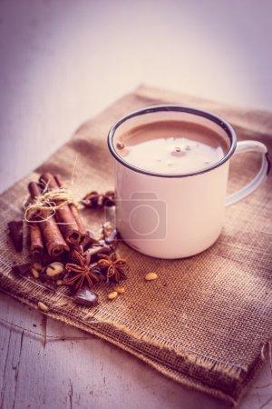 Photo pour Chocolat chaud - image libre de droit