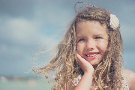 Cute happiness girl
