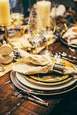 Dekorace na stůl díkůvzdání