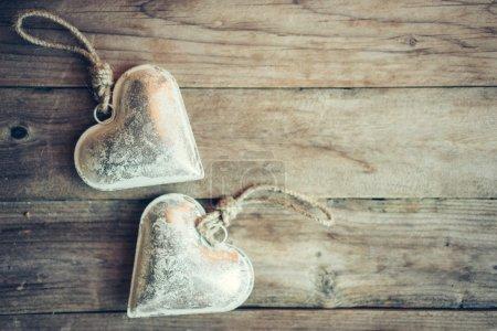 Heart touys ornament