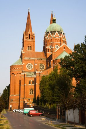 The Cathedral of St. Peter and St. Paul in Dakovo city. Slavonia