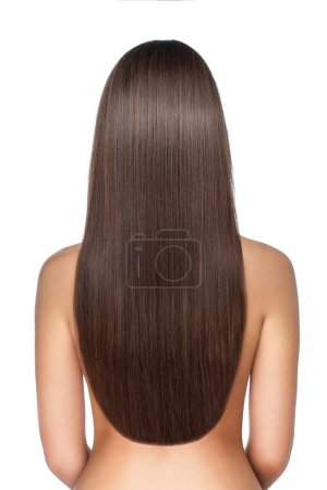 Photo for Beautiful and well-groomed long hair woman - Royalty Free Image