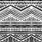 Hand drawn painted seamless pattern Vector illustration