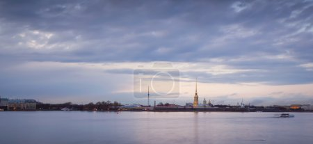 Peter and Paul Fortress on the Neva