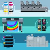 Vector print equipment