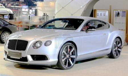 silver Bentley series Continental GT