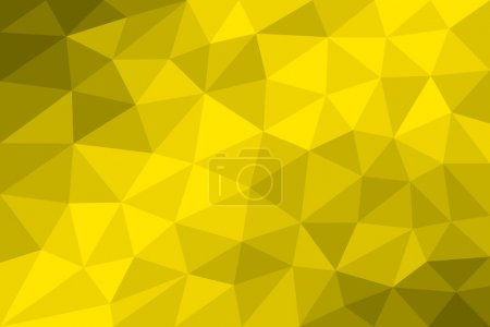 Low poly background yellow