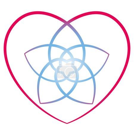 Flower of the Venus Heart