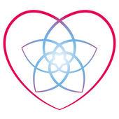 Květinové srdce venus