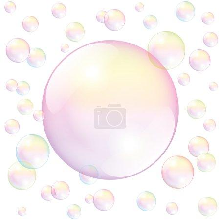Soap Bubble White