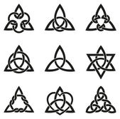 A variety of celtic knots used for decoration or tattoos Nine endless basket weave knots These knots are most known for their adaptation for use in the ornamentation of Christian monuments and manuscripts