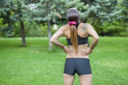 Dolor lumbar durante la actividad deportiva