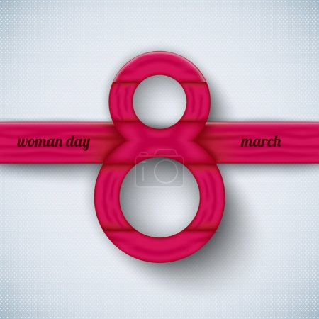 Happy Women's Day vector elements for web, print, magazine, flyer, brochure, media, data visualization, flyer, poster, and advertising with text 8th March
