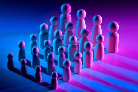 Entreprise familiale. Structure hiérarchique de l'entreprise. Chaque employé accomplit un travail spécifique. L'organisation du travail. Croissance de carrière dans l'entreprise.