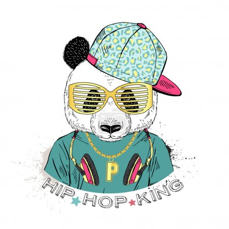 panda boy dressed up