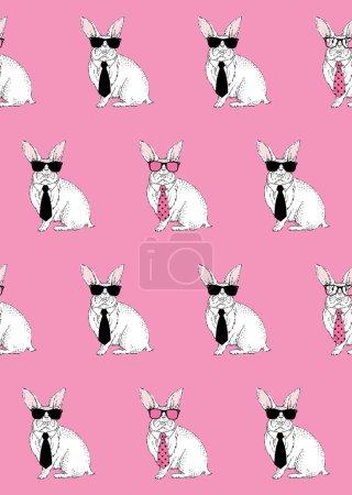 Nerd bunny  pattern