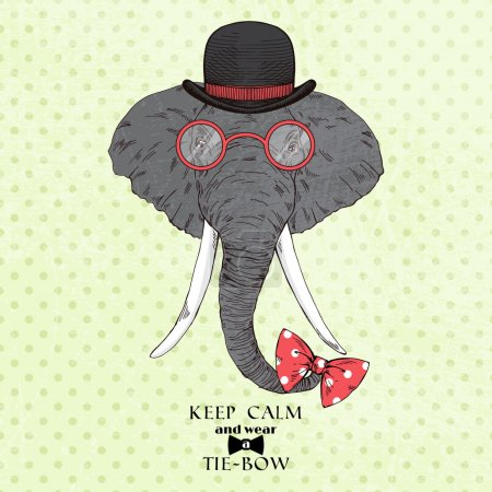 elephant in bowler hat