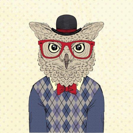 Fashion animal  anthropomorphic design