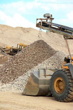 Sand and gravel manufacture