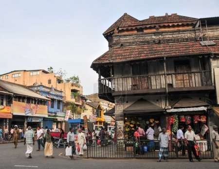 View of Kandy street
