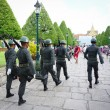 Постер, плакат: Kings Guards are marching in Bangkok