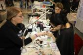Demonstration of  manicure work