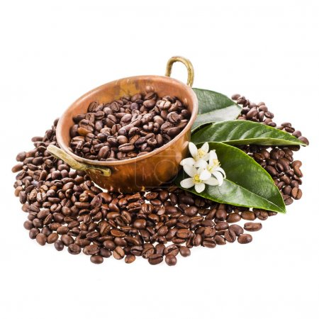 bowl filled with coffee beans