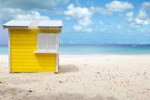 beach hut, barbados