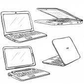 Set of Sketch Laptops