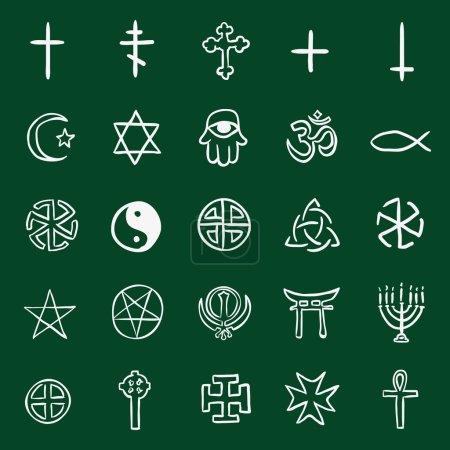 Doodle Religious Symbols