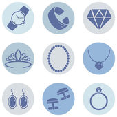 Vector Set of Jewellery Icons