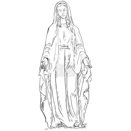 Croquis Ave Maria