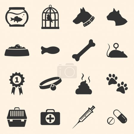 Set of Pets Icons