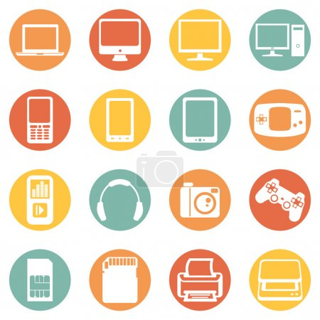 Digital Devices Icons