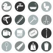 Bathroom and Hygiene Icons