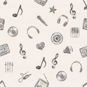 Music Pattern Background