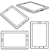 Set of Lineart Tablets PC