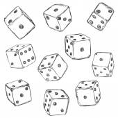 Set of Sketch Dices