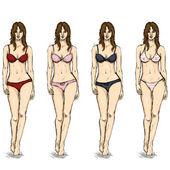 Sketch Female Models