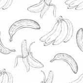 Cartoon Banana Background