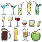 Color Sketch Cocktails