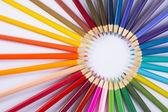 Barevné dřevěné tužky