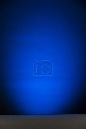 Empty blue banner