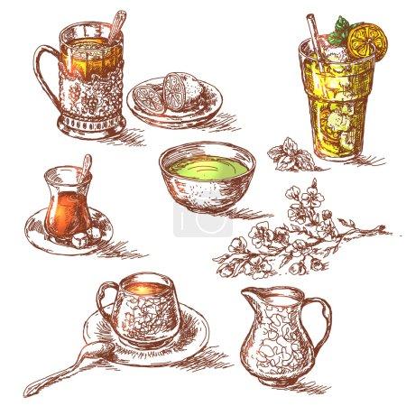 Various Teas Set