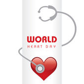 Creative World Heart Day Greeting
