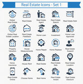 Real Estate Icons - Set 1