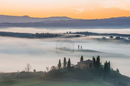 fantastique paysage toscan